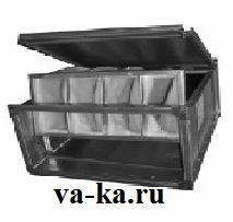 Фильтр канальный для круглых каналов ФВП - 40 - 20