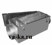 Фильтр канальный для круглых каналов ФВК - 400