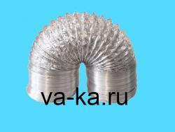 Воздуховод гибкий алюминиевый DEC D=406mm L=10m