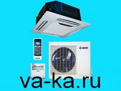 Кассетный кондиционер Sakata SIB-50BAV/SOB-50VA (600*600)