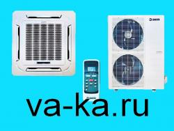 Кассетный кондиционер Sakata SIB-100BAY/SOB-100YA (850*850