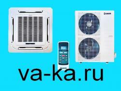 Кассетный кондиционер типа Sakata SIB-140BAY/SOB-140YA (850*850)