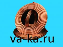 "Труба медная 1/2"" HALCOR (Греция) L=15м"