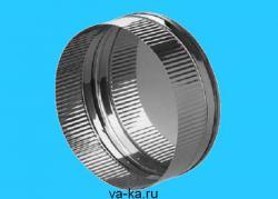 Заглушка из нержавеющей стали 0,5 D=150мм