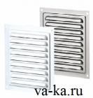 Решетки металлические накладные с москитной сеткой МВМ 125