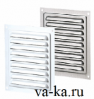 Решетки металлические накладные с москитной сеткой МВМ 150