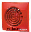 Вентилятор накладной ВЕНТС Квайт 100 RED-Красный