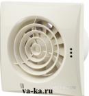 Вентилятор накладной ВЕНТС Квайт 125 (Cлоновая кость)