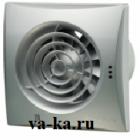 Вентилятор накладной ВЕНТС Квайт 100 (Хром)