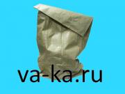 Мешок мусорный зеленый 1 шт.