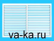 Решетка радиаторная 600х600 белая