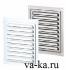 Решетки металлические накладные с москитной сеткой