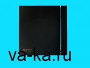 (Soler & Palau) Вентилятор накладной Silent 100 CZ Design Black (черный)